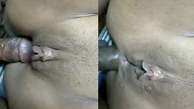 Horny desi wife hard ass fucking with moaning