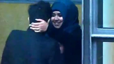 UK Paki student Couple Making Out In Public