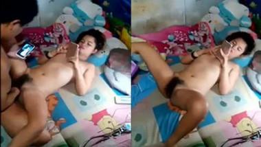 Asian sexy girl fucking & show mobile porn
