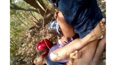 desi hairy couples fuck in forest self video part 1