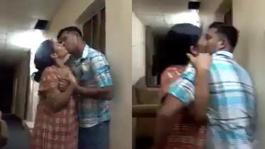 Desi Bhabhi Kiss, Boob Press By Neighbor Boy, Her Sister Recording