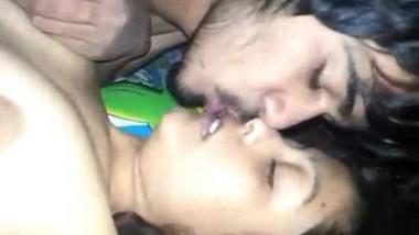 Indian Couple deep kiss & fucking