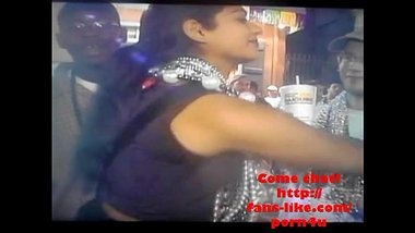 Nip slip of Tamil girl while changing clothes