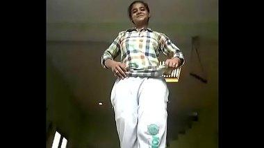 Nangi Girl From Bihar Making Selfie Video