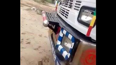 Indian Truck Driver Caught Fucking A Randi