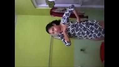 Sexy Punjabi Girl Making Her Own Bathing Video