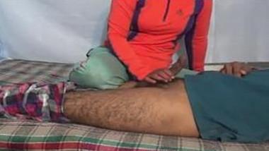 Horny Indian Bhabhi Blowjoband Riding Husband Dick