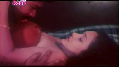 Desi masala romance on bed
