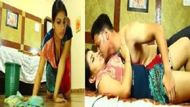 Young Indian Maid fucked hard by her Master