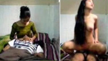 Cute desi girl student fucks Indian Teacher wild