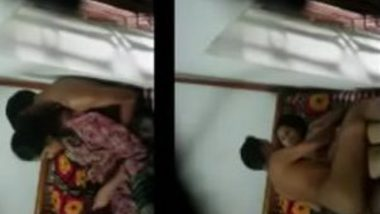 Indian porn MMS of desi maid fucked by her Malik