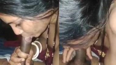Desi Wife Give Blowjob