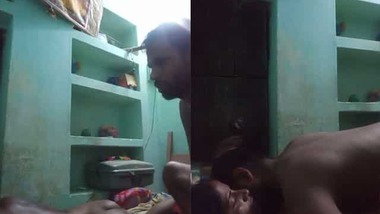 Desi Village bhabi fucking with old father in lw