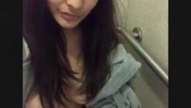 Cute nri girl Selfie cam video capture
