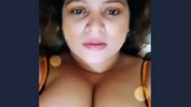 Beautiful indian bhabi selfie video capture