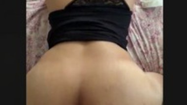 Hot Indian wife doggy sex