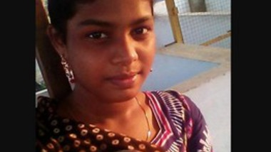 Shy Tamil Girl Showing Boobs
