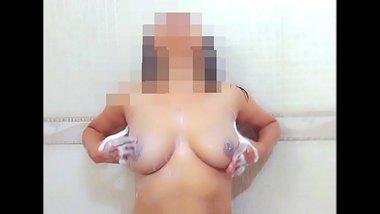 Pranya bhabhi fondling boobs for her devar