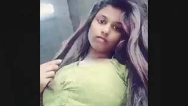 Bangladeshi Beautiful Cute Girl Exposing Her Sexy Figure