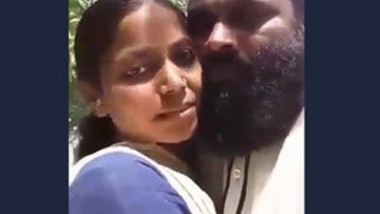 Desi girl romance with hujur outdoor