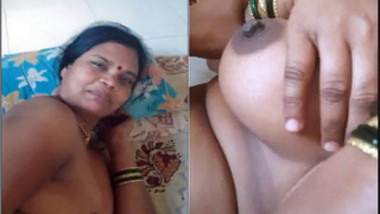 Shy Indian MILF takes part in XXX video before sex with her hubby