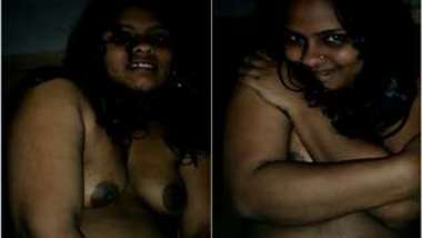 Indian woman is young and naive exposing XXX tits on camera for viewers