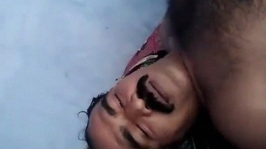 Dirty Tamil wife sucking penis of her husband