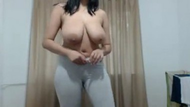Indian big boob girl webcam video-4