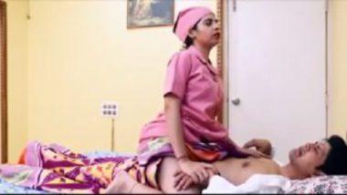 Horny desi nurse sex with innocent patient