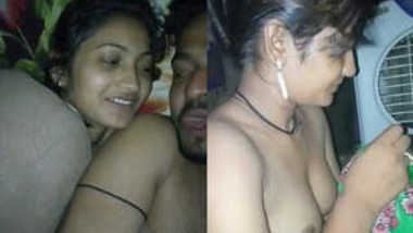 Sex lover films Indian whore with naked XXX tits before she gets dressed