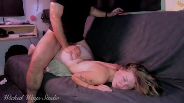 20 year old Babysitter takes a rough fucking for extra cash Watch her face when it goes in!