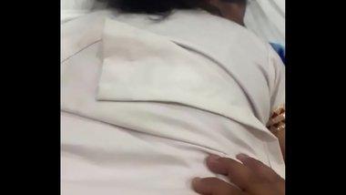 Desi Punjabi Bhabhi Big Ass Doggystyle fuck By Young Boy Moans Punjabi Real Boyfriend Part 2