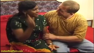 buxomy tamil gets her first huge cock