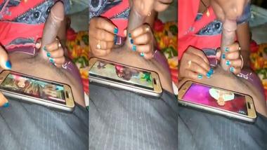 Bihari maid sucking dick of her house owner video