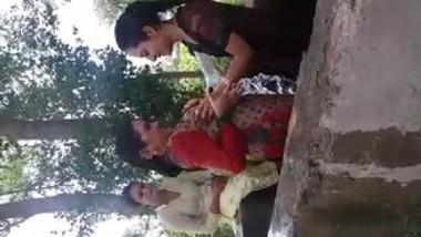 Desi girls enjoy in village pool