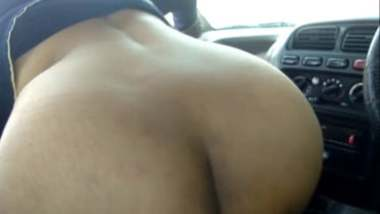 Big Ass Aunty Enjoys Car Sex With Hubby On Lover's Point