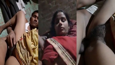 Village wife sex with young Devar MMS