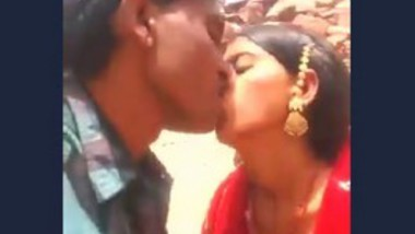 Rajasthani Couple Outdoor Fun