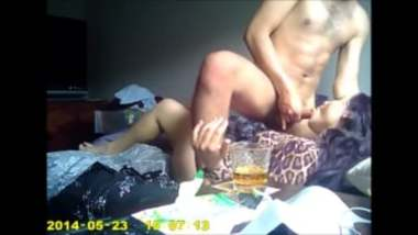 Tight Ass Wife Enjoys Rough Sex With Drunk Colleague