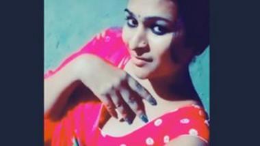 Indian cute girl vert hot tiktok video-7
