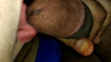 Village girl sucking lover cock