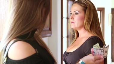 Lesbian stepdaughter Dani Daniels Lusting For Her Gorgeous stepmom