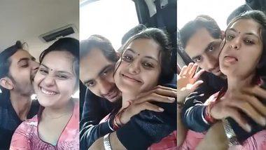 Indian Marrried Babe XXX Romance with Ex Boyfriend in Car