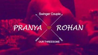 Loud Moaning Tamil Housewife Pranya in Triplet...