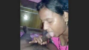 Desi Bhabhi Blowjob Part 1