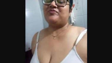 Desi Big Boobs Bhabhi Selfie For Lover