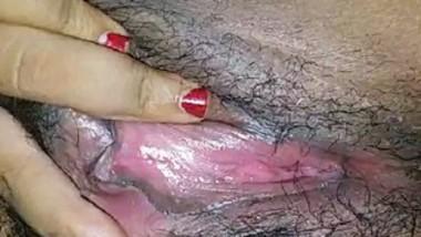 Desi big pussy bhabi fingering selfie video