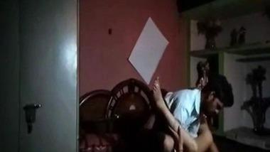 Desi Bhabhi hard fucking by hubby caught on hidden cam