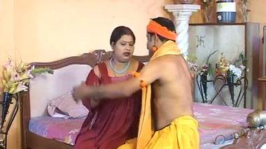 Indian bbw bhabhi satisfying guruji after pooja in b-grade