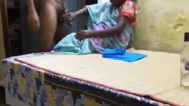 Indian maid handjob and cum -2